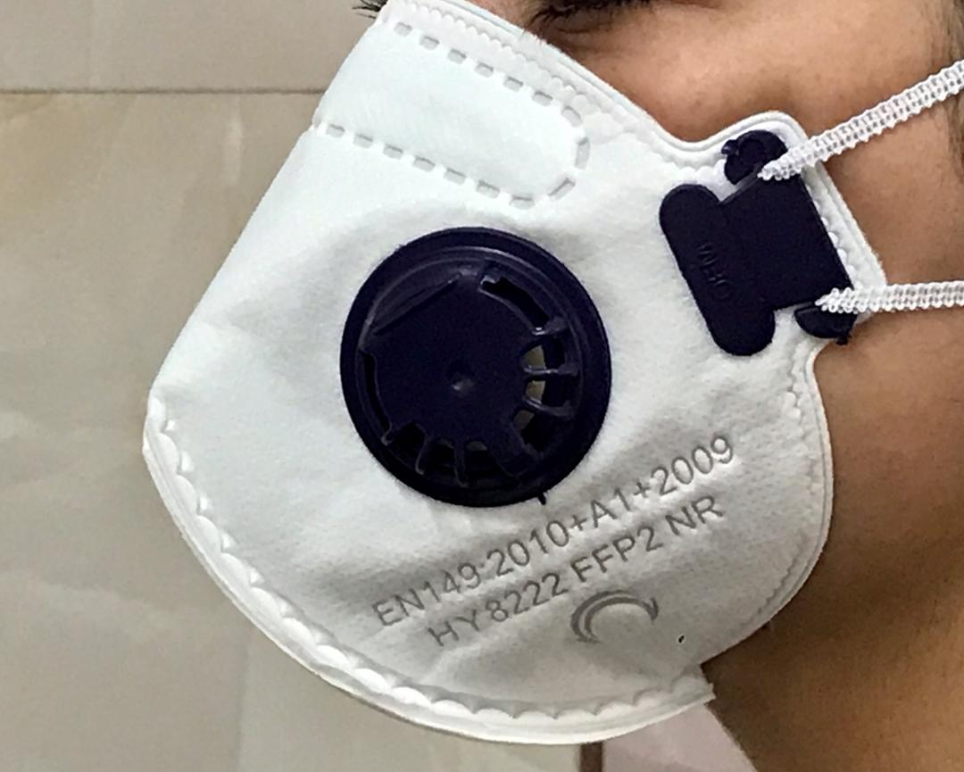ماسک تنفسی ۶ لایه فیلتر دار N95 برند امگا